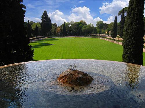 villa borghese photo
